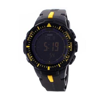 Harga Casio Watch Pro Trek Tough Solar Black Resin Case Resin Strap Mens NWT + Warranty PRG-300-1A9