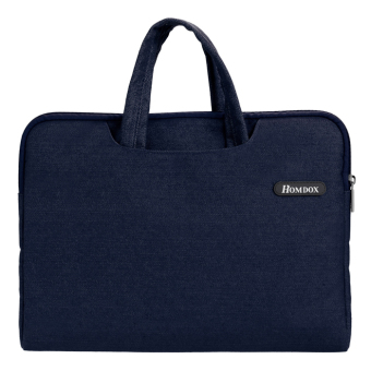 "Cyber Soft Netbook Laptop Sleeve Case Bag Pouch + Hide Handle for 15.6"" 14.1"" 14.5"" Laptop ( Blue ) Price Philippines"