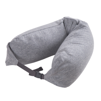 Harga MUJI u good pillow neck pillow pillow u U shaped air travel coach break pashui portable pillow