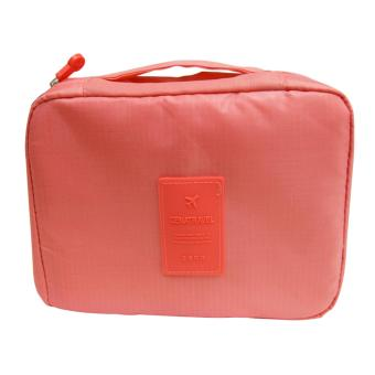 Wawawei Waterproof Toiletry Cosmetic Bag (Pink) #32309 Price Philippines