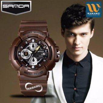 SANDA 357 Fashion Outdoor Sports Multifunctional Waterproof Electronic Watch Price Philippines
