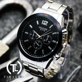 Timeless Manila Ashton K1719 Chrono Steel Watch (Black) Price Philippines