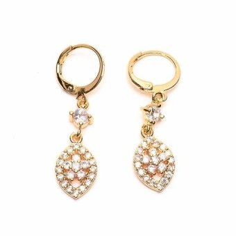 Harga Piedras Cubic Zirconia Earrings Stud
