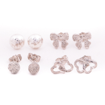 Harga Piedras Paug42 Earrings (Gold)