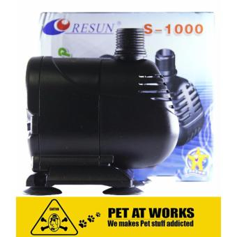Harga Resun Submarine Water Pump 15W (S1000) For Fish Pond, Fish Tank Aquarium, Salt Water Tank, Marine Tank, Planted Tank