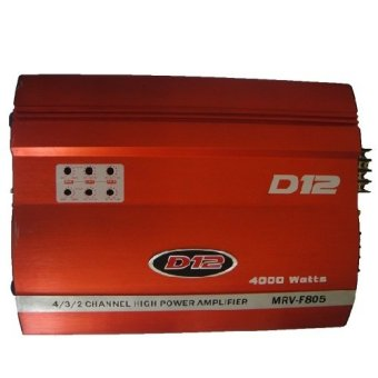 Harga D12 MRV-F805 Amplifier (Red)
