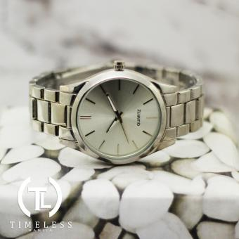Timeless Manila Linear Plain Elegant Metal Watch (Silver) Price Philippines