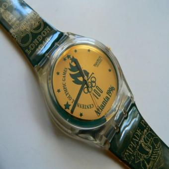 1994 Vintage Swatch Watch Atlanta 1996 GZ136. Price Philippines