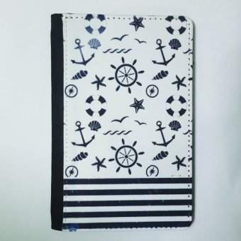 Harga Vin & Cole Passport Holder Nautical PHGE094 (Blue/White)