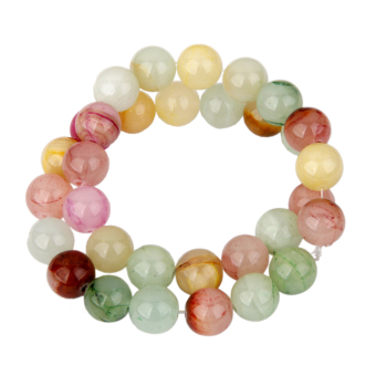 BolehDeals 12mm/35pcs Spacer Jade Gemstone Loose Beads Round for DIY Bracelet Necklace Price Philippines