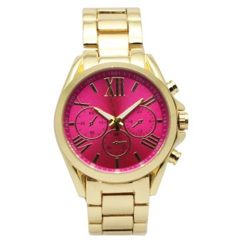 Timeless Manila Patricia Chrono Metal Watch (Hot Pink) Price Philippines