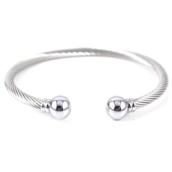 Harga Piedras Everyday Jewelry Charriol Inspired Cable Bracelet / Bangle