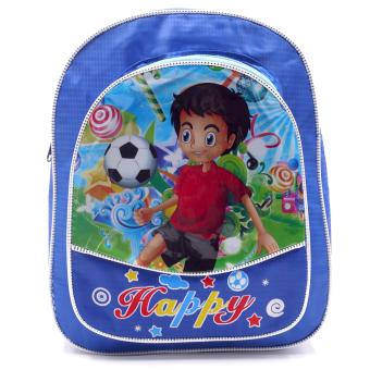 Harga HAPPY KIDS Trendy Kids Backpack Outdoor Bag (Soccer Design)