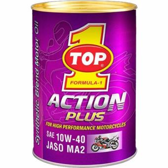 Harga TOP 1 FORUMULA 1 ACTION PLUS FOR HIGH PERFORMANCE MOTORCYCLES SAE10W-40 JASO MA2