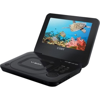 "Coby TFDVD7011E 7"" Portable DVD Player (Black) Price Philippines"