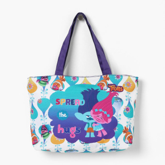 Trolls Girls Spread the Love Horizontal Tote Bag Price Philippines