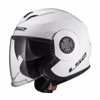Harga LS2 Open Face OF570 Verso Helmet (White)