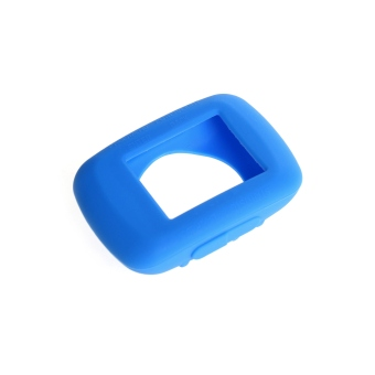 Harga Silicone Gel Skin Case Cover for Garmin Edge 500 / 200 GPS in Blue - intl