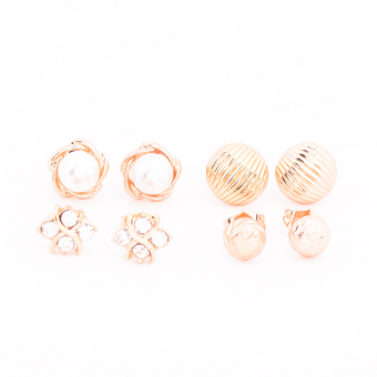 Harga Piedras Paug24 Earrings (Gold)