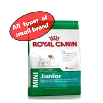 Harga ROYAL CANIN MINI JUNIOR DOG DRY FOOD
