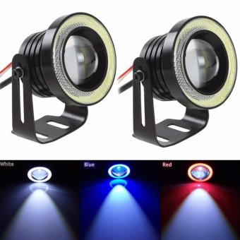 "12V Car 3"" COB LED Halo Projector Fog Angle Eyes Price Philippines"