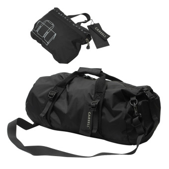 360WISH Foldable Lightweight Sports Gear Waterproof Travel Duffel Gym Sports Bag - Black/L Price Philippines