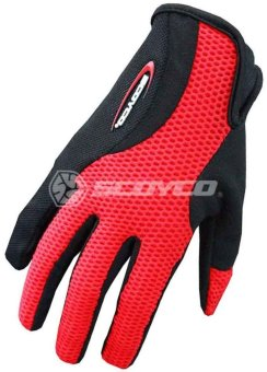 Scoyco® BG-Series BG15 Motorcycle Gloves Cycling (Red) (L) Price Philippines