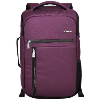 Harga Travel Outdoor Computer Backpack Laptop bag(purple)