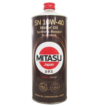 Harga Mitasu MJ122A Motor Oil Synthetic Blended