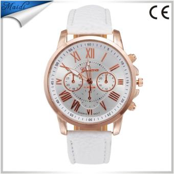 Gold Roman Numbers Geneva Watch (White) Price Philippines