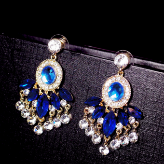 Sparkling Gemstone Earrings For Women Price Philippines