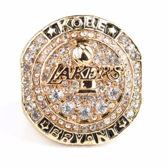 Lakers Kobe Bryant Basketball NBA Fans Anniversary rings Champion - intl Price Philippines