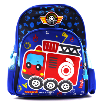 Happy Kids Unisex Kids Backpack (Firetruck Design) Price Philippines