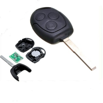 Harga Brand New 3 Buttons Remote Key Fob with 63 Start Chip for Ford Focus/Mondeo - intl