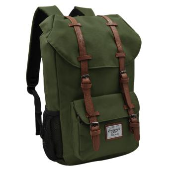 Harga Everyday Deal Travel Laptop Backpack (Army Green)