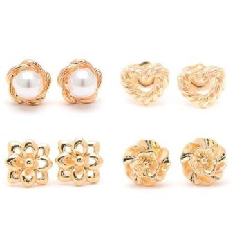 Harga Piedras Paug30 Earrings (Gold)