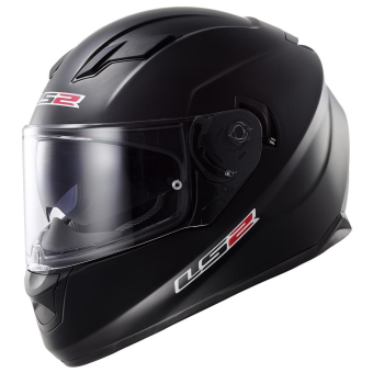 Harga LS2 Full-Face FF320 Stream Helmet (Matte Black)