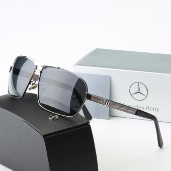 Harga Ten-Stellar 2017 new color film men's sunglasses, driving mirror fishing mirror polarized sunglasses, Mercedes-Benz sunglasses Mercedes-Benz - intl