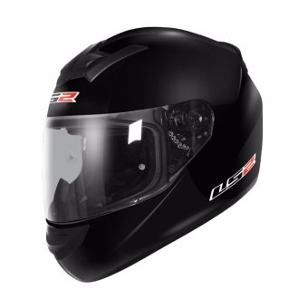 Harga LS2 Full Face FF352 Rookie Mono Helmet (Black)