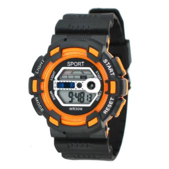 Harga SPORT Multifunction Sports Watch WR30M (Orange)