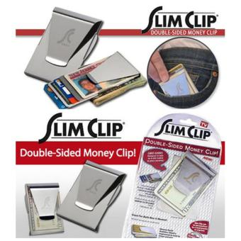 Harga Slim Clip Double-Sided Money Clip