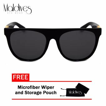 Maldives H8015-Y Moby Men's Super-Hot Wayfarer Style Summer Sunglasses(Black) Price Philippines