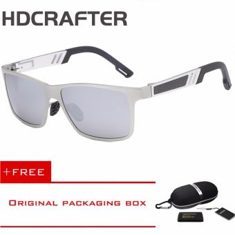 Harga HDCRAFTER Mirror Sunglasses Colorful Opital UV400 Lens Fishing Outdoor Eyewear