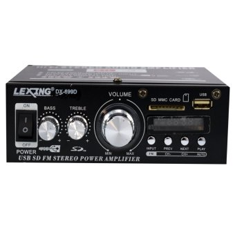 Harga Lexing DX-699D 12V Car MP3 Hi-Fi Stereo Audio Amplifier with USB/SD Port DVD FM MMC