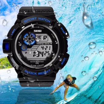 S-Shock S-39 Waterproof Sports LED Men's Watch (Blue) Price Philippines