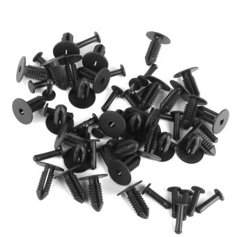 Lucky Nylon Push-Type Retainers Clips for Benz BMW 1249900492 30Pcs - intl Price Philippines