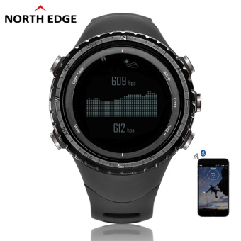 Harga Digital Watches Men Watch with Compass Altimeter Barometer Thermometer Altitude for Mountaineering Climbing Hiking Fishing Running Outdoor sports waterproof 50m