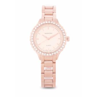 Harga Valentino Rose Gold Stainless Band Women'S Watch 20121960-Rose Gold - Rose Gold Dial