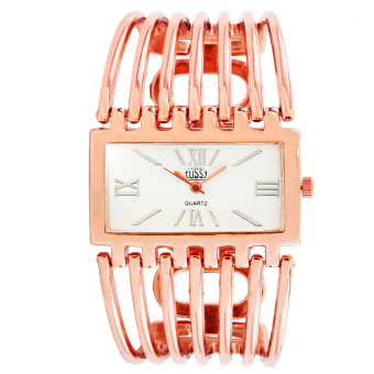 Harga Cussi Allen Stainless Strap Watch (Rose Gold)