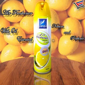 Harga LiangLi Odor Eliminator Air Freshener Spray 480mL (Lemon)